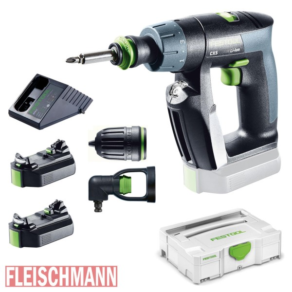 akku bohrschrauber cxs li 2 6 set 564532 akkuschrauber festool fleischmann werkzeuge. Black Bedroom Furniture Sets. Home Design Ideas