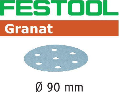 50 St 90 mm Festool Schleifscheiben STF D90//6 P80 RU2//50 499079