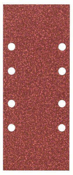 Schleifblatt-Set Expert for Wood, 10-teilig, 8 Löcher, gespannt, 93 x 230 mm, 60