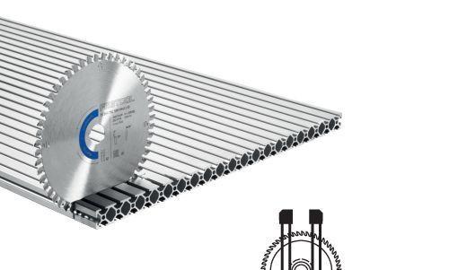 Spezial-Sägeblatt HW 160x1,8x20 F/FA52 Aluminium/Plastics, 205555