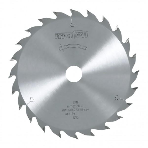 Sägeblatt-HM 168x1,2/1,8x20 mm, Z 24, WZ, 092478