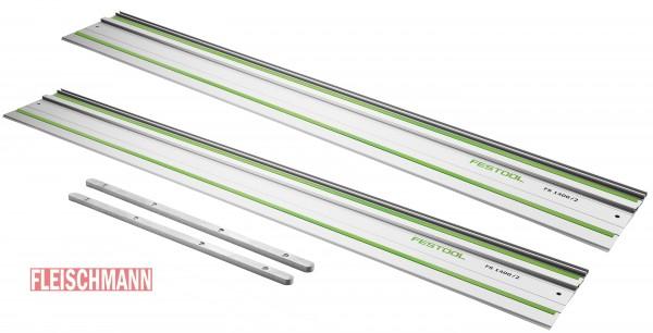 Führungsschiene FS 1400/2 , 2 Stück 491498 und 2 x Verbindungsstück FSV, 482107
