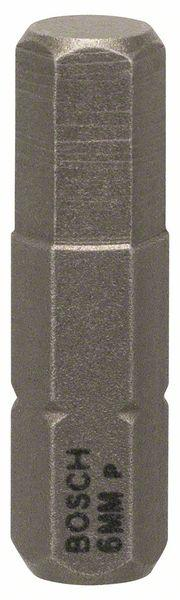 Schrauberbit Extra-Hart, HEX 6, 25 mm, 3er-Pack