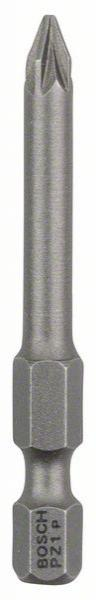 Schrauberbit Extra-Hart, PZ 1, 49 mm, 3er-Pack