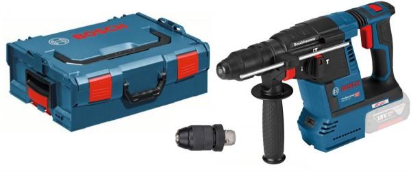 Akku-Bohrhammer mit SDS plus GBH 18V-26 F, Solo, Schnellspannbohrfutter, L-BOXX, 0 611 910 001