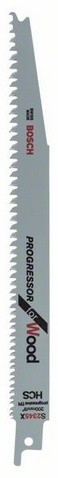 Säbelsägeblatt S 2345 X, Progressor for Wood, 2er-Pack