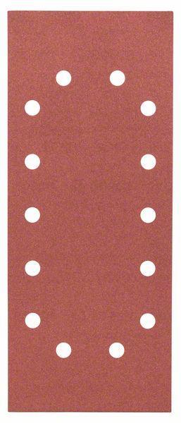 Schleifblatt-Set Expert for Wood, 10-teilig, 14 Löcher, gespannt, 115x280 mm,240