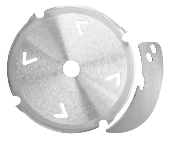 Diamantsägeblatt-Set 160x20 Z4 inkl. Spaltkeil, 203640