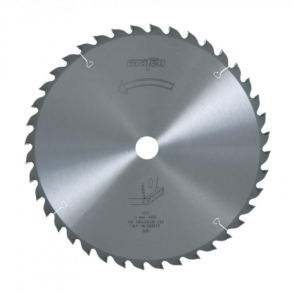 Sägeblatt-HM 330x2,2/3,6x30 mm, Z 40, WZ, 092572