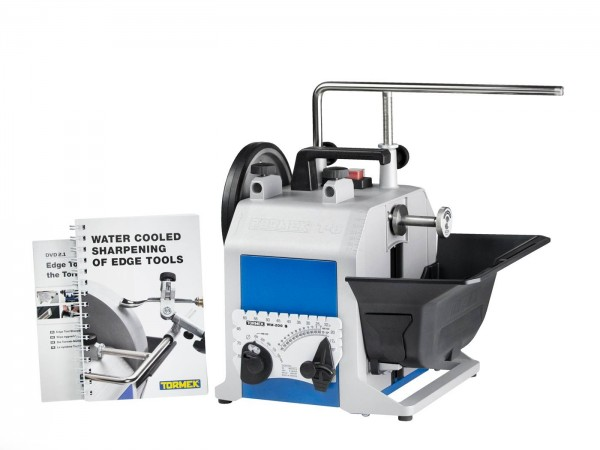 Tormek T-8 Custom Nassschleifmaschine, ohne Schleif- und Abziehscheibe und Vorrichtungen, 421395