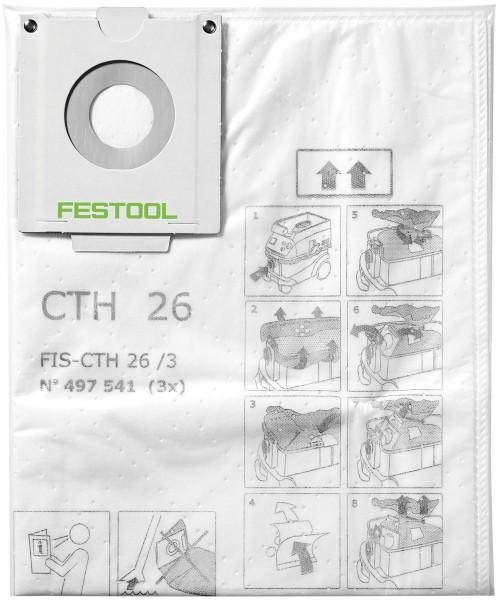 Sicherheitsfiltersack FIS-CTH 26/3, 497541