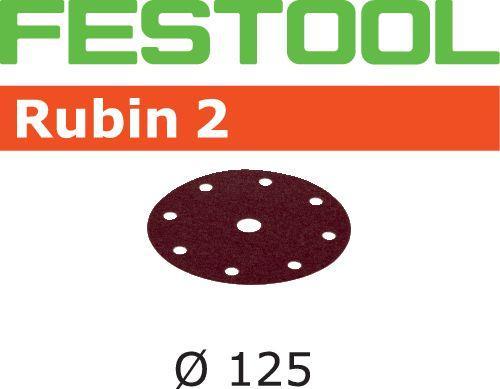 Schleifscheiben STF D125/8 P120 RU2/50, 499097