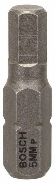 Schrauberbit Extra-Hart, HEX 5, 25 mm, 3er-Pack