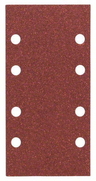 Schleifblatt-Set Expert for Wood, 10-teilig, 8 Löcher, 93 x 186 mm, 80