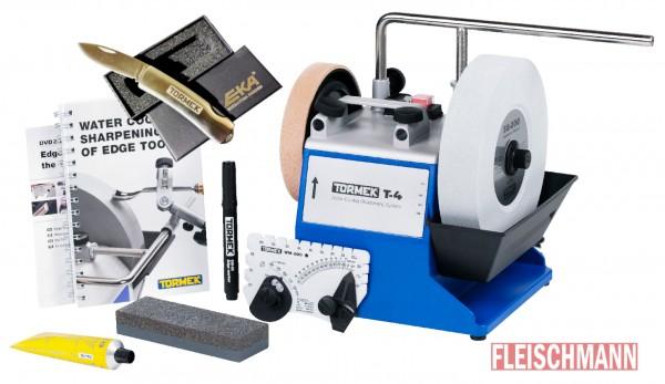 Tormek T-4 Nassschleifmaschine mit EKA Taschenmesser, 421361