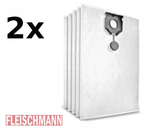2er Pack Vliesfiltertüten Original für NT 30/1 (2 x 5 Stück), 2.889-154.0