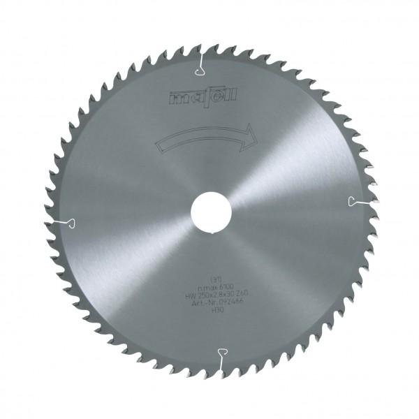 Sägeblatt-HM 250x2,8/3,2x30 mm Z 60 WZ, 092466