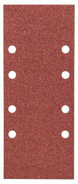 Schleifblatt-Set Expert for Wood, 10-teilig, 8 Löcher, gespannt, 93 x 230 mm,100