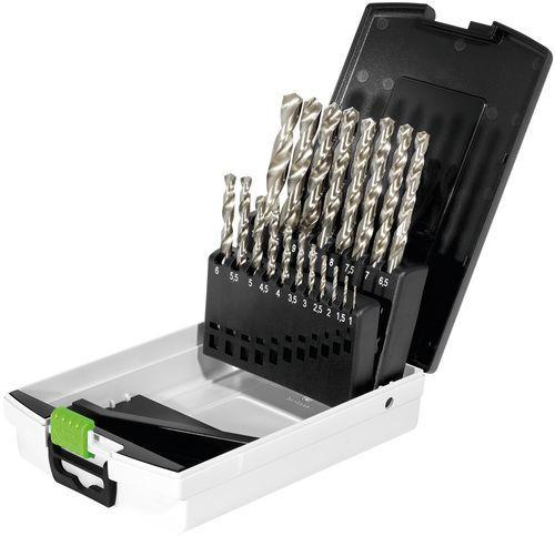 Bohrerbox HSS Stahlbohrer HSS D 1-10 Sort/19, 498981