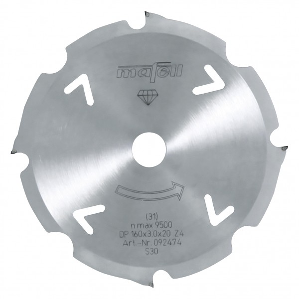 Sägeblatt-Diamant 160x2,4/3,0x20mm, 092474 +