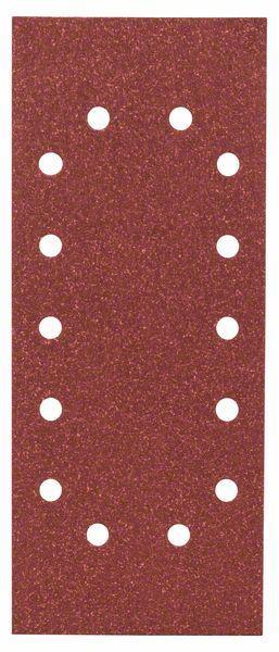 Schleifblatt-Set Expert for Wood, 10-teilig, 14 Löcher, gespannt, 115x280 mm, 80