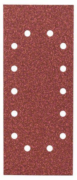 Schleifblatt-Set Expert for Wood, 10-teilig, 14 Löcher, gespannt, 115x280 mm, 60
