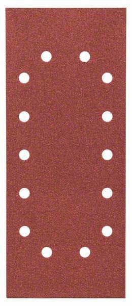 Schleifblatt-Set Expert for Wood, 10-teilig, 14 Löcher, gespannt, 115x280 mm,120