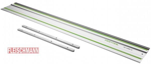 Führungsschiene FS 1400/2, 1 Stück 491498 und 2 x Verbindungsstück FSV, 482107