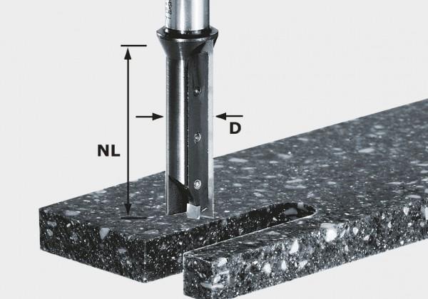 Nutfräser-Wendeplatten HW S12 D14/45 WM, 491110