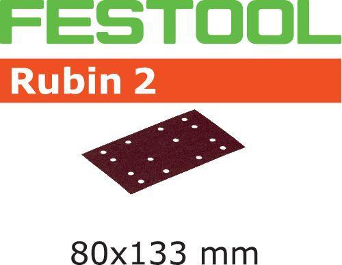 Schleifstreifen STF 80X133 P60 RU2/50, 499047#