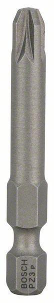 Schrauberbit Extra-Hart, PZ 3, 49 mm, 3er-Pack