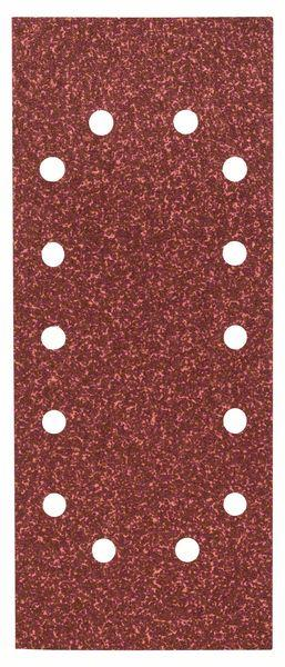 Schleifblatt-Set Expert for Wood, 10-teilig, 14 Löcher, gespannt, 115x280 mm, 40