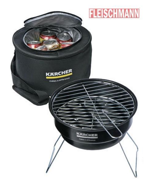 KÄRCHER Grill und Kühltaschen-Set Picknicktasche