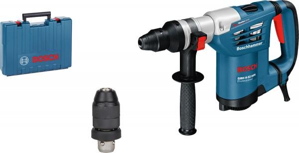 Bohrhammer mit SDS plus GBH 4-32 DFR, Handwerkkoffer, Schnellspannbohrfutter, 0 611 332 101
